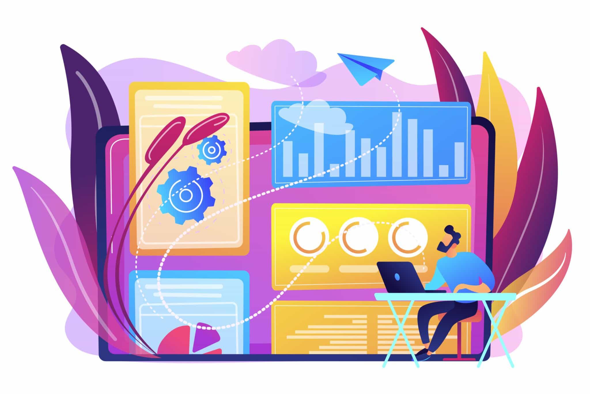 virtualización de contenidos